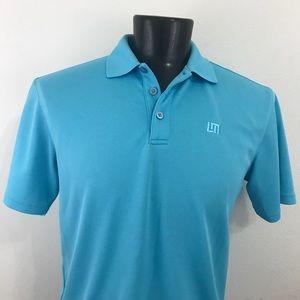 Men's Loud Mouth Golf Polo Shirt Blue